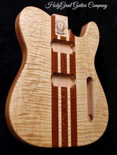 Telecaster Body • Flame Maple • Leopardwood • Mahogany / Tele Body / Pre-Order