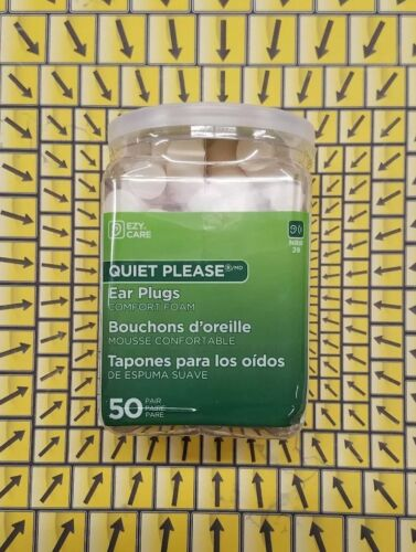 Flents Quiet Please Foam Ear Plugs  Maximum Hearing Protecti