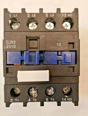 Baomain Ac Contactor Cjx2-2510 110v Coil 5060hz 25a Din Rail 3p Three Pole D1