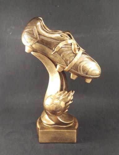 Large  Soccer Boot Trophy  Award. Free engraving.