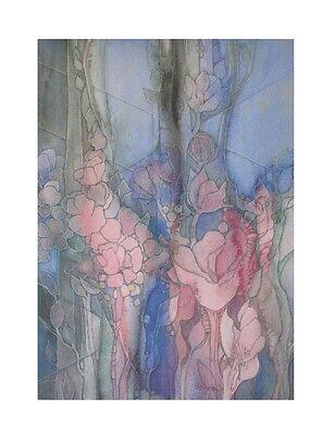 Hildegard Schmidt-Roose Illusion II Poster Kunstdruck Bild 80x60cm