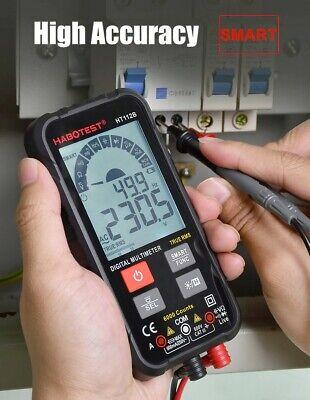 Habotest Digitalsmall Smart Multimeter 600v True Rms Black Pocket Multimeter