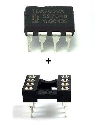 2pcs Philips Tda7052a Sockets - 1w Btl Mono Audio Amplifier Dc Control New Ic