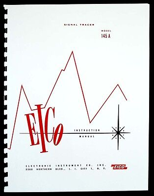 Eico 145a Signal Tracer Instruction And Construction Manual