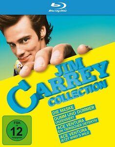 Dumm und Dümmer + Die Maske + Ace Ventura 1+2 * NEU OVP * Blu-ray Box Jim Carrey