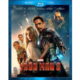 Iron Man 3 (Blu-ray/DVD 2013, 2-Disc Set) Marvel FREE SHIPPING