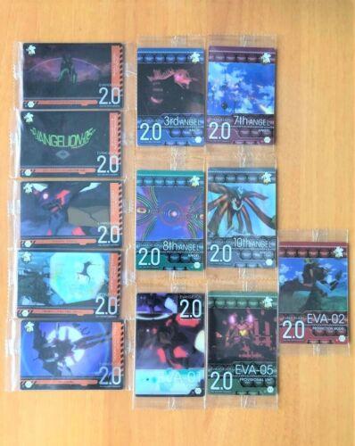 Rebuild of Evangelion Wafer Card - Angel Test Type Model Lot of 12