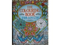 New Colouring Book For Adults - 1cm Thick