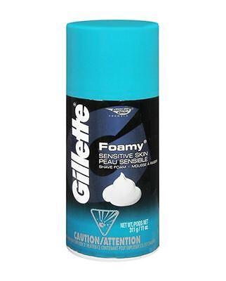 Gillette Foamy Shaving Foam Cream Comfort Glide 11oz / 311g