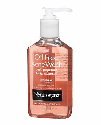 Neutrogena Oil-Free Salicylic Acid Pink Grapefruit Pore Clea