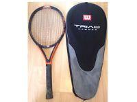 Wilson Triad 6.0 Hammer Tennis Racquet 110 SQ Inch Head 4 1/4 Grip Europe:2