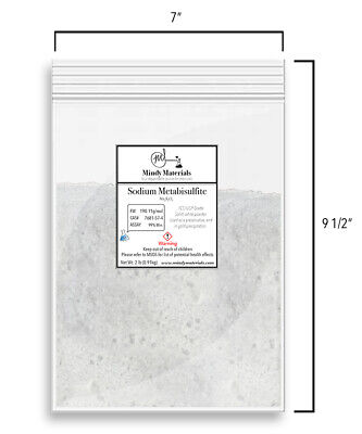 Sodium Metabisulfite Fccusp 99 Pure Min. 2 Pounds