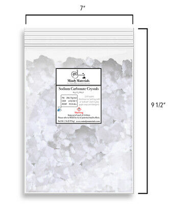 Sodium Carbonate Crystals Washing Soda 99.5 Pure Min. 2 Pounds