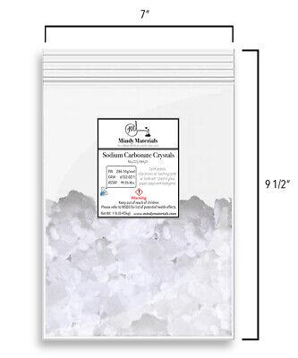Sodium Carbonate Crystals 99.5 Pure Min. Washing Soda 1 Pound