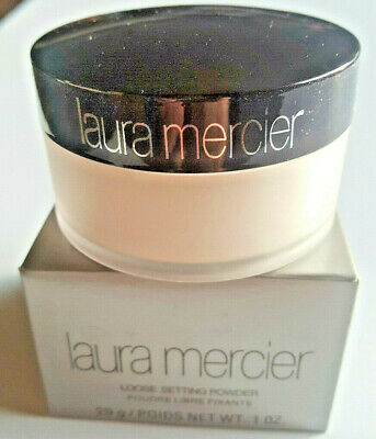 Laura Mercier No 1 Loose Setting Face Powder Translucent- BNIB Fast/Free ship!