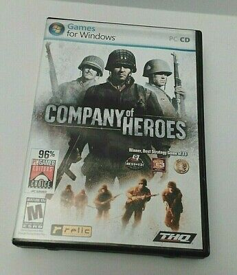 Company Of Heroes PC ( Best Strategy Game 2006) Pre-owned Discs and (Best Company Of Heroes Game)