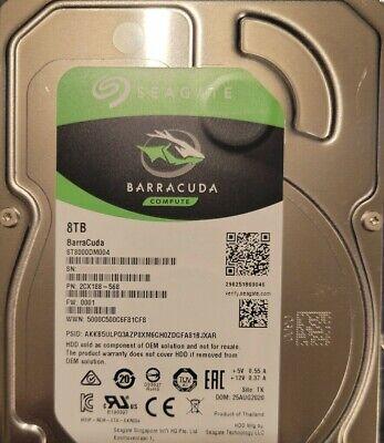 """Seagate Barracuda 8 TB, Internal 3.5"""" OEM (ST8000DM004)"""