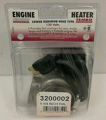 Lower Radiator Hose Coolant Engine Heater Zero Start 3200002  (Lower Radiator Hose Heater)