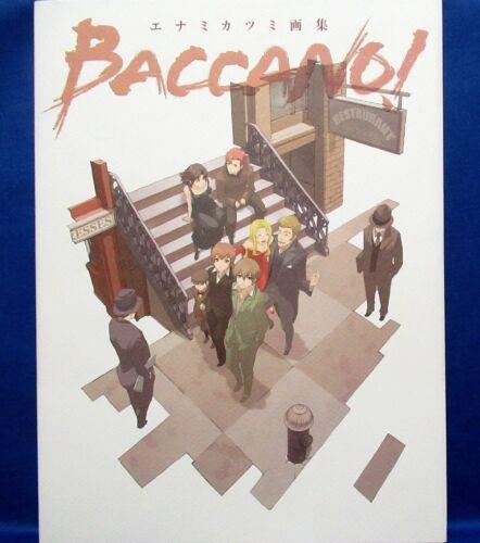 Katsumi Enami Illustrations - Baccano! /Japanese Anime Art Book