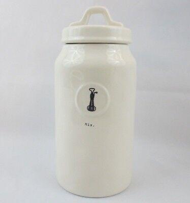 RAE DUNN Artisan Collection MIX Canister Lidded Jar Coffee Flour Sugar 10