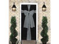Christmas door bow kits £3 each
