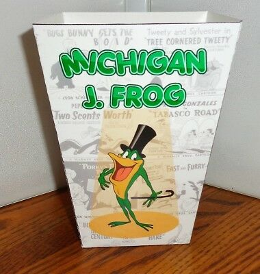 Michigan J. Frog Popcorn Box 2. Looney Tunes Cartoons.......free Shipping