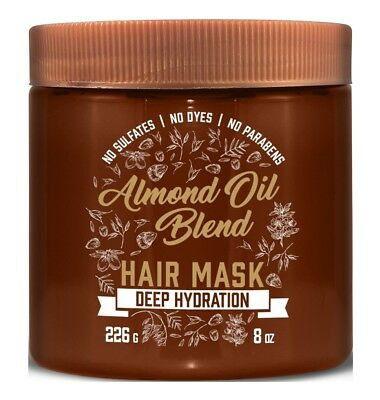 AVEENO HAIR MASK ALMOND OIL BLEND 8 Ounce JAR