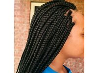 Braids,crochet, wigs and weavon fixing services