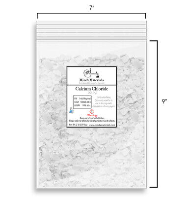 Calcium Chloride Dihydrate Flakes 99 Pure Min. 2 Pounds