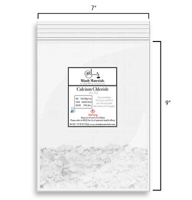 Calcium Chloride Cacl2 2h2o Flakes 99 Pure Min. 12 Pound