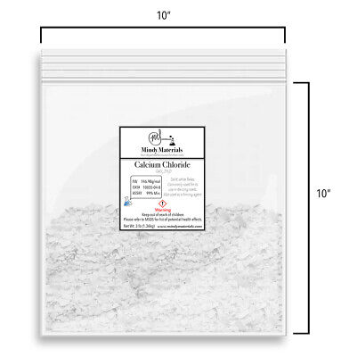 Calcium Chloride Dihydrate Flakes 99 Pure Min. 3 Pounds