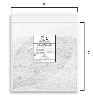 Calcium Chloride Cacl2 2h2o Flakes 99 Pure Min. 5 Pounds