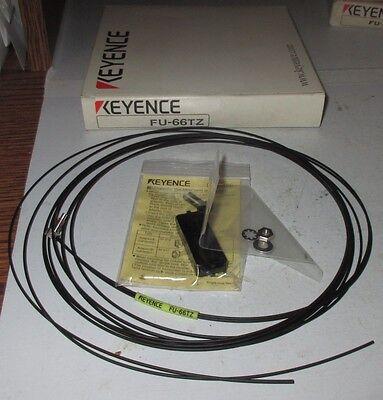 New Keyence Fiber Optic Sensor Fu-66tz Photoelectric Fiber Diffuse Threaded 2m