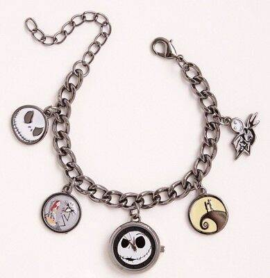 Disney Nightmare Before Christmas Charm Bracelet Watch