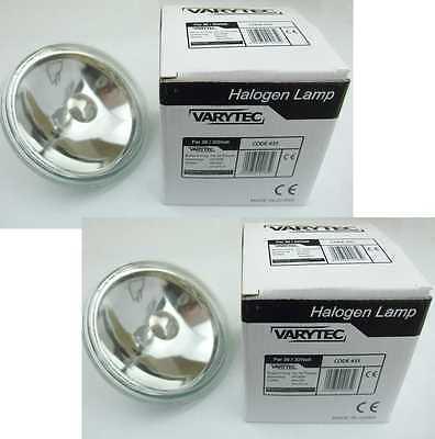 2x PAR36 6Volt 30Watt, PAR 36 PIN SPOT Punktstrahler Leuchtmittel, G53, halogen Par 36 Pin Spot