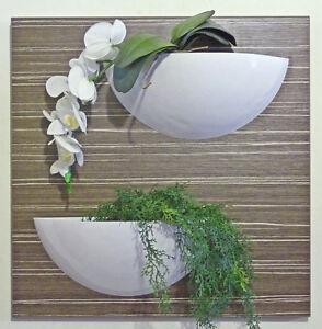 Pannello decorativo vaso no orchidea decorazione ambiente - Pannello decorativo parete ...