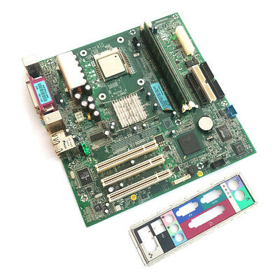 Dell Motherboard E139765 Bluford + I/O Plate + Intel Pentium 4 2.80GHz + 256MB, used for sale  Shipping to United States