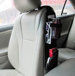Auto Car Seat Side Storage Organizer Interior Multi Use Bag Accessory  37*11cm