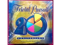 Trivial Pursuit 20th Anniversary Edition - Hasbro- Gameboard