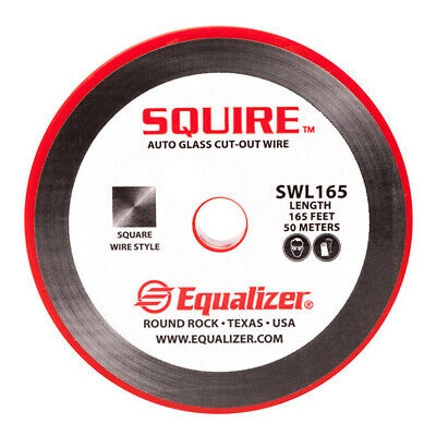 164ft Roll Equalizer Squire Auto Glass Windshield Cut / Cutting Out Wire SWL165