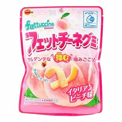 Bourbon Japan Fettuccine Gummy Candy Peach Grape Ramune Soda Cola Various -