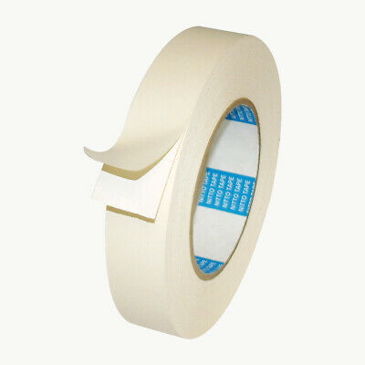 Nitto Permacel P-50 Double Coated Cloth Carpet Tape 1 In. X 75 Ft. White