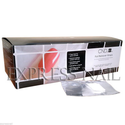 CND FOIL REMOVER WRAPS for Shellac and Brisa Lite - Removal Wrap 250 counts