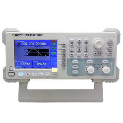 Owon Ag4151 150mhz Signal Generators 400msas 32bits Res Fsk Sweep Burst 3 Yrs W