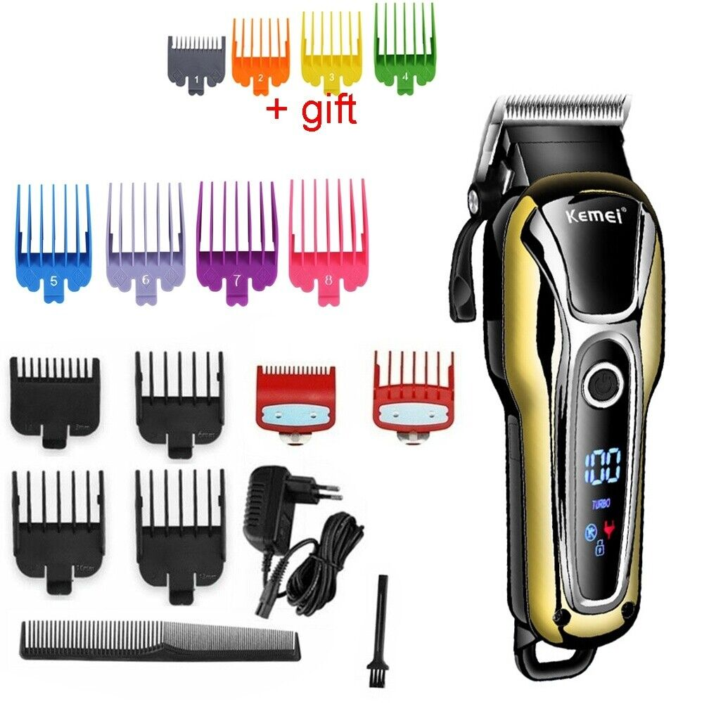 barber professional cordless electric hair clipper trimmer