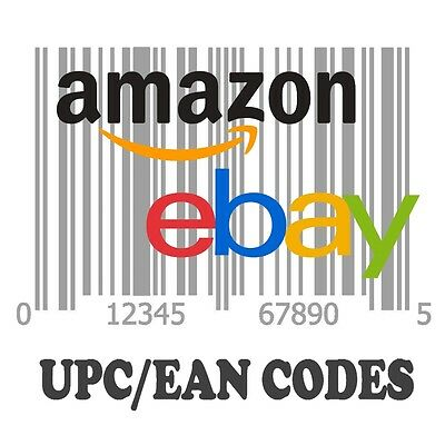 1 000 Upc Ean Barcode Number For Selling On Amazon Walmart Ebay Etsy Shopify