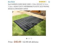 6x4 shed base **brand new in box**