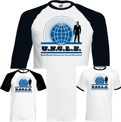 The Man From Uncle Mens Retro Tv Show T Shirt David Mccallum From Ncis Programme