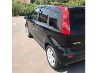 **2007**NISSAN NOTE SE MPV (12 MONTHS MOT SEPTEMBER 2018) SERVICE HISTORY [ONLY 2 PREVIOUS KEEPERS]