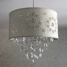 Laura Ashley chandelier shades ceiling light